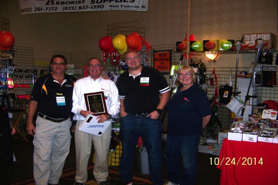 Northeastern Arborist Supply Award